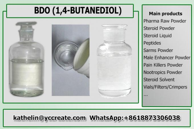 Pharma Solvents 1,4-Butanediol / BDO / BD Intermediates Liquid CAS 110-63-4