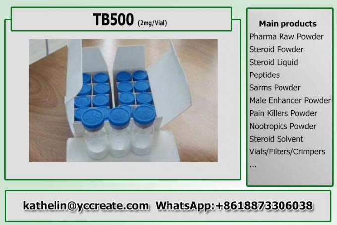 Healthy Hormone Peptide Powder TB500 / TB-500 Lyophilized Polypeptide Powder