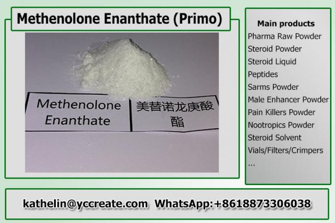 Methenolone Enanthate Anabolic Injectable Steroids Primobolan Powder For Gym Users Bodybuilding