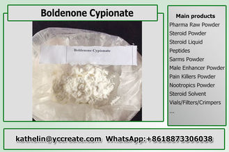 China Hormone Power Steroid Boldenone Cypionate / Boldenone Cyp For Bodybuilding CAS 106505-90-2 supplier