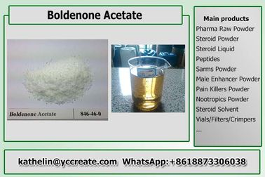 China Hormone Power Steroid Boldenone Acetate / Boldenone Ace For Muscle Gains CAS 2363-59-9 supplier