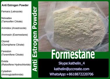 China Selective Aromatase Inhibitor Steroidal Powder Formestane For Treatment Of Breast Cancer distributor