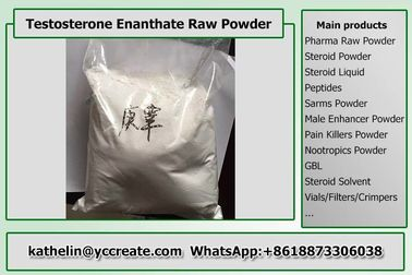 China White Pure Testosterone Enanthate / Test E For Bodybuilding CAS 315-37-7 distributor
