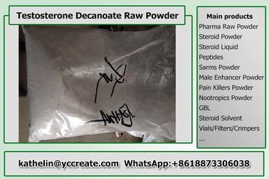 China CAS 5721-91-5 Testosterone Decanoate / Test D Pharma Grade 99% Purity distributor