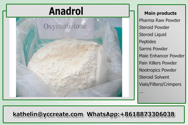 China Orally Liquid Oxymetholone / Anadrol Steroid Raw Powder For Muscle Building CAS 434-07-1 distributor