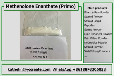 China Steroid Powder Methenolone Enanthate / Primo E / Primobolan For Bodybuilding distributor
