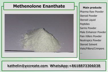 China Steroid Raw Powder Methenolone Enanthate / Primo E For Steroid Cycle CAS 303-42-4 factory
