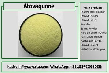 China Pharmaceuticals Raw Powder Atovaquone Yellow Crystalline Solid Powder CAS 95233-18-4 distributor