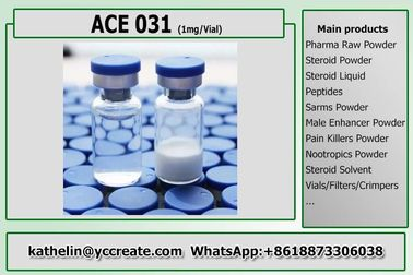 China Protein Peptide Raw Powder ACE-031 / Myostatin 1Mg Per Vial For Muscle Mass factory
