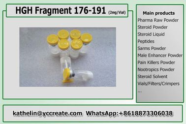 China Growth Hormone Polypeptide Fragment 176-191 Peptides For Fat Loss distributor
