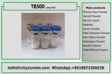 China Healthy Hormone Peptide Powder TB500 / TB-500 Lyophilized Polypeptide Powder factory