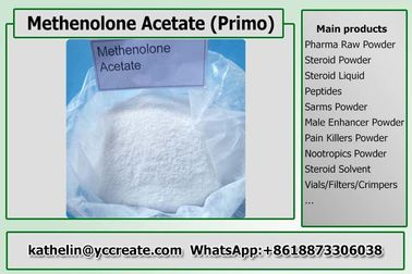 China Methenolone Acetate Effective Injectable Primobolan Steroids For Muscle Building 434-05-9 distributor