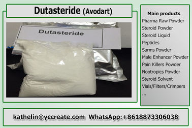 China Male Enhancement Powder Dutasteride / Avodart  For Treatment Of Hair Loss 164656-23-9 distributor